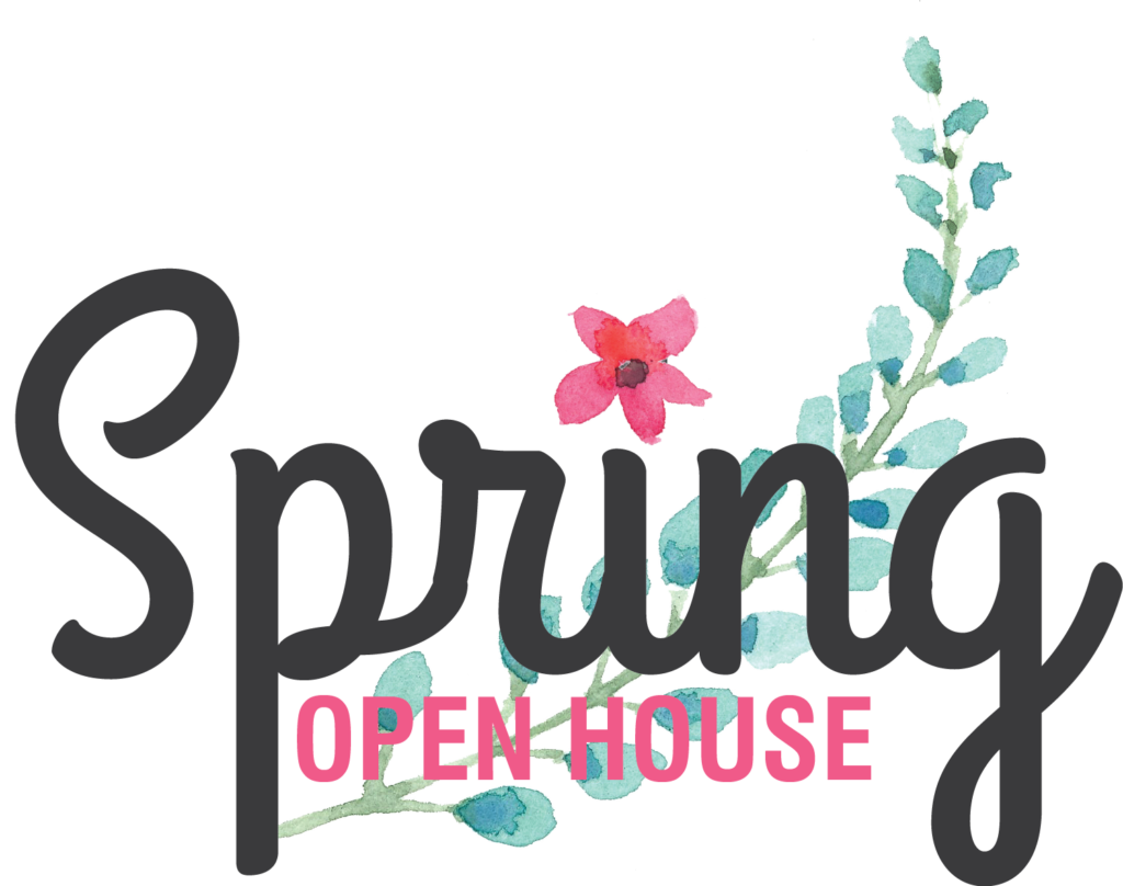 '16 Spring Open House Logo