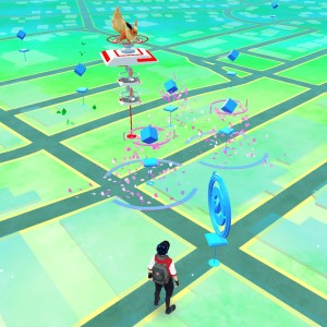 Downtown Lee's Summit is a hub of PokemonGo activity!